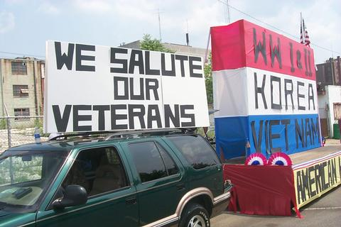 Veterans Float