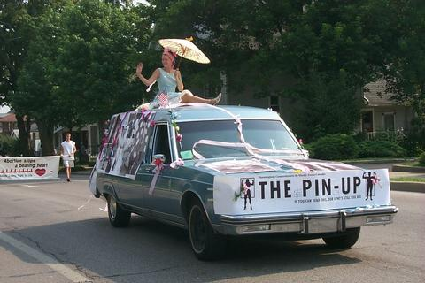 The Pin-up on Parade