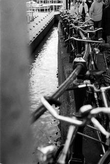 Bikes on the Damrak