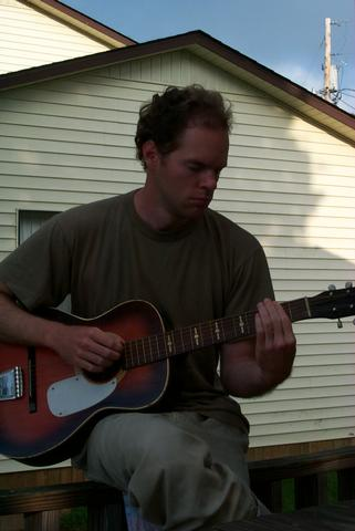 Rob on the Guitar