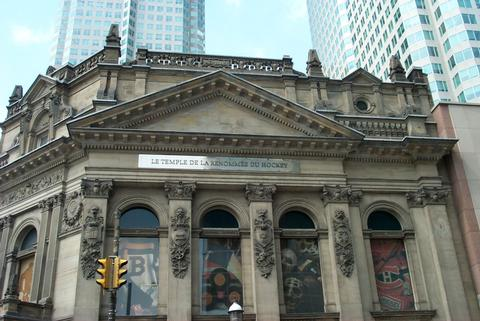 The Toronto Cathedral / Hockey Hall of Fame