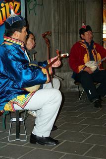 Mongolian Musicians under the Reijksmusem